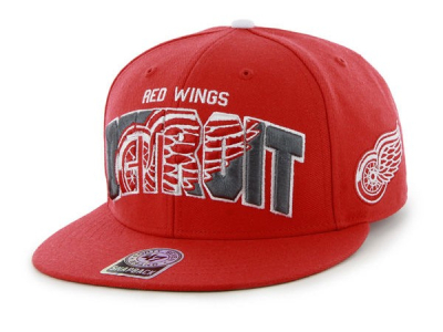 Šiltovka ´47 Brand SNAPBACK DETROIT RED WINGS